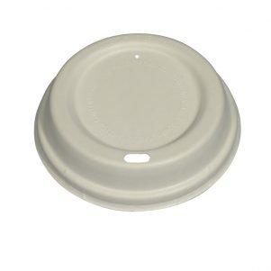 Bagsse plastic free coffee cup lid